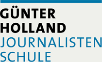 Logo Günter Holland Journalisten Schule